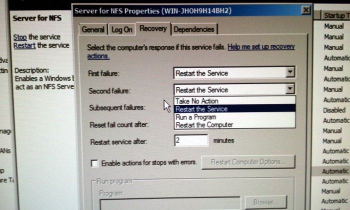 گزینه رسمی ری استارت ویندوز سرور در صورت بروز مشکل در ...