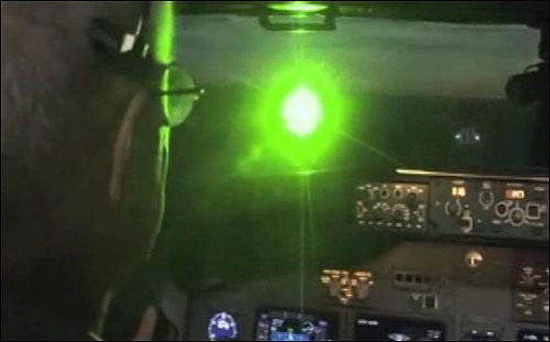 لیزر پوینتر خطرات خطرناک