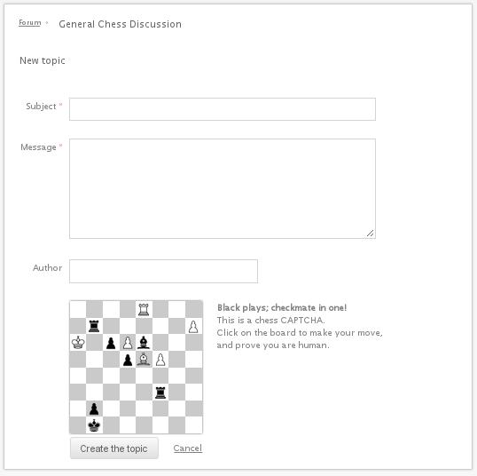 اسپم شطرنج
