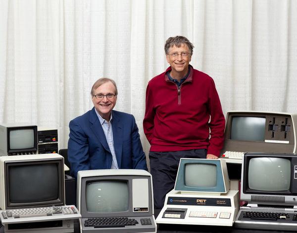 گیتس و آلن مایکروسافت