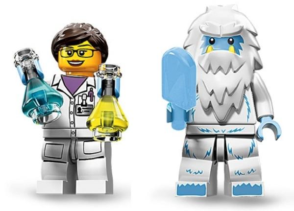 هیمالیا تلگرام لگو و مینی فیگور دانشمند زن | کیبرد آزاد