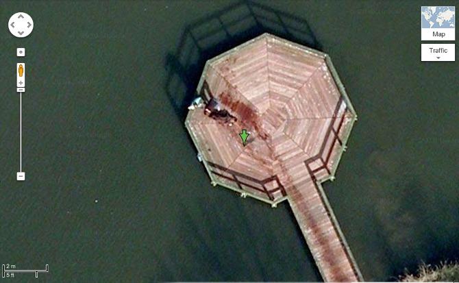 جسد در نقشه های گوگل