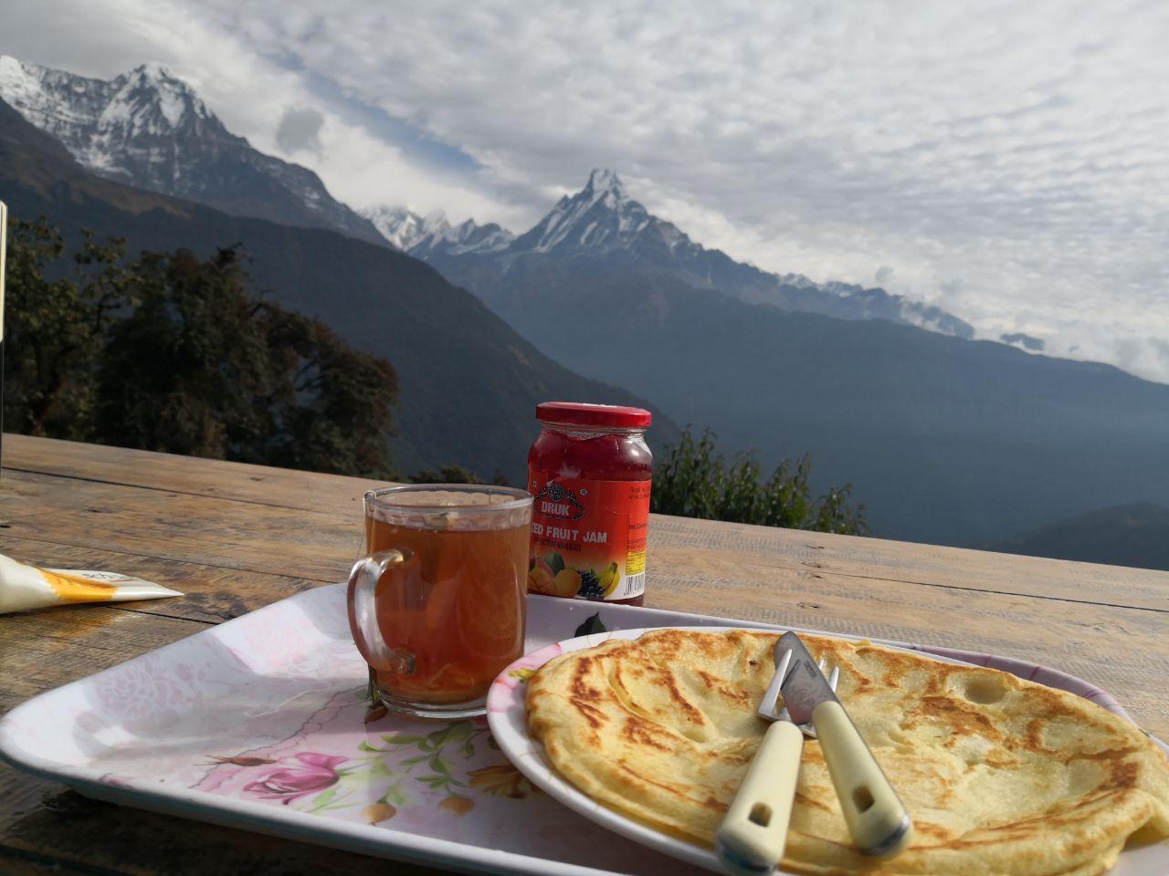 صبحانه در هیمالیا